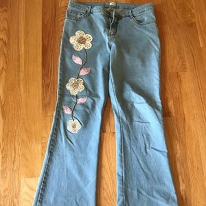 cache jeans!
